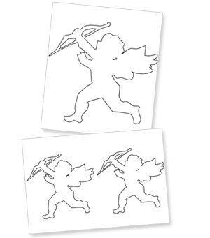 Cupid Template Printable Printable Cupid Cutouts — Printable Treats