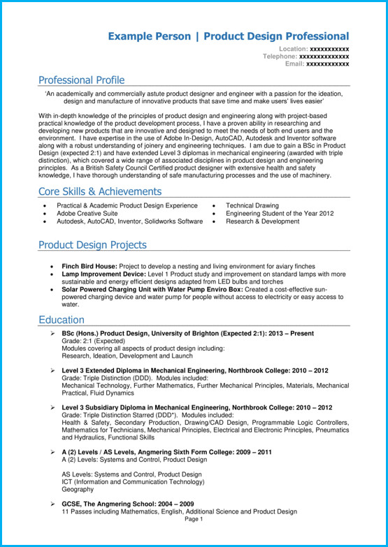Curriculum Vitae Template Student Student Cv Template and Examples School Leaver