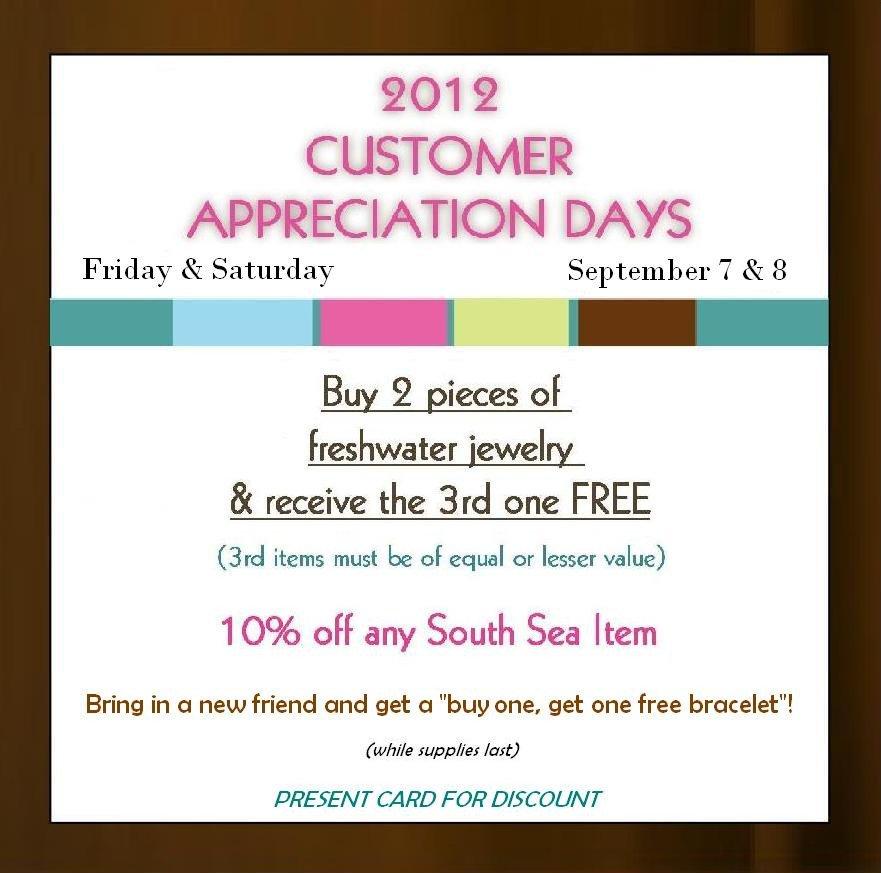 Customer Appreciation Flyer Template Customer Appreciation Days Flyer – Simply Marcella