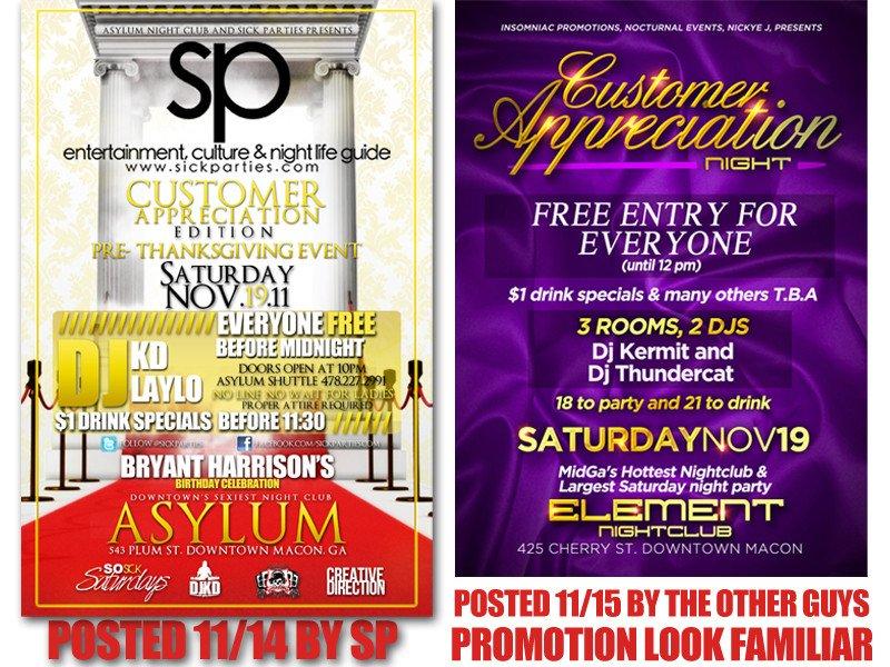 Customer Appreciation Flyer Template Customer Appreciation Edition asylum Vs Element