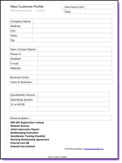 Customer Profile Template Excel Best S Of Customer order form Template Excel Excel