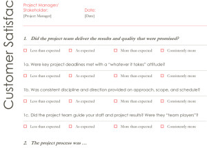 Customer Satisfaction Survey Template Word Survey Templates – Printable Documents