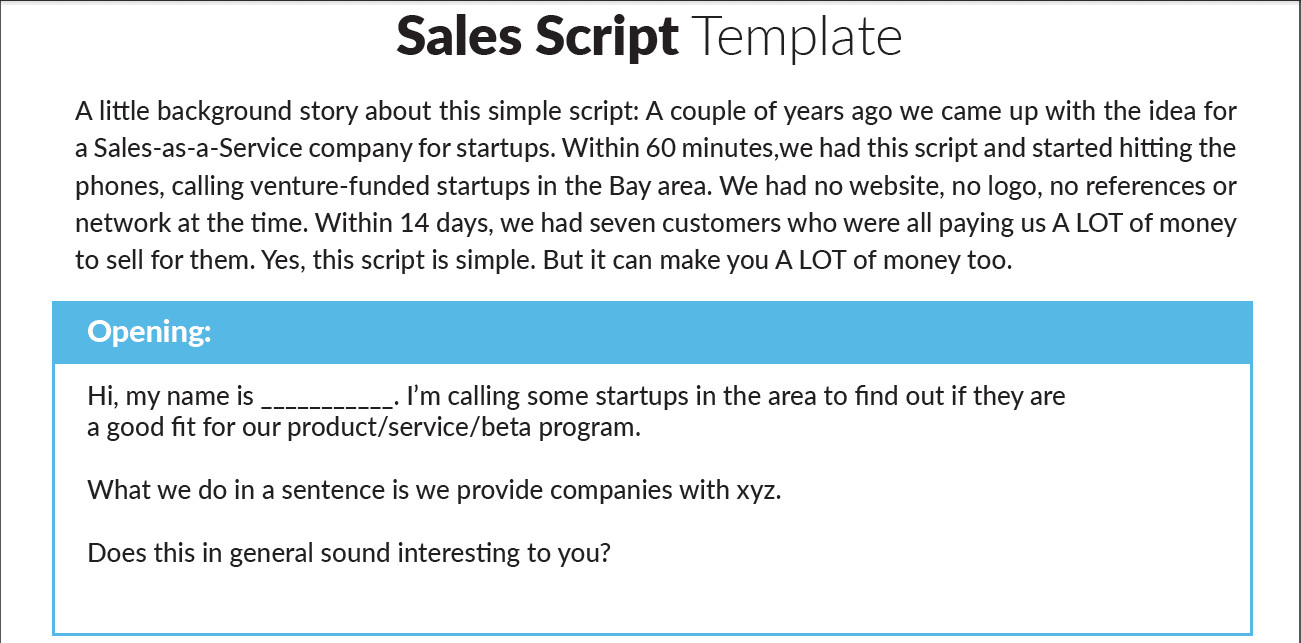 Customer Service Scripts Templates the Ultimate Sales Management toolkit 7 Free Templates to
