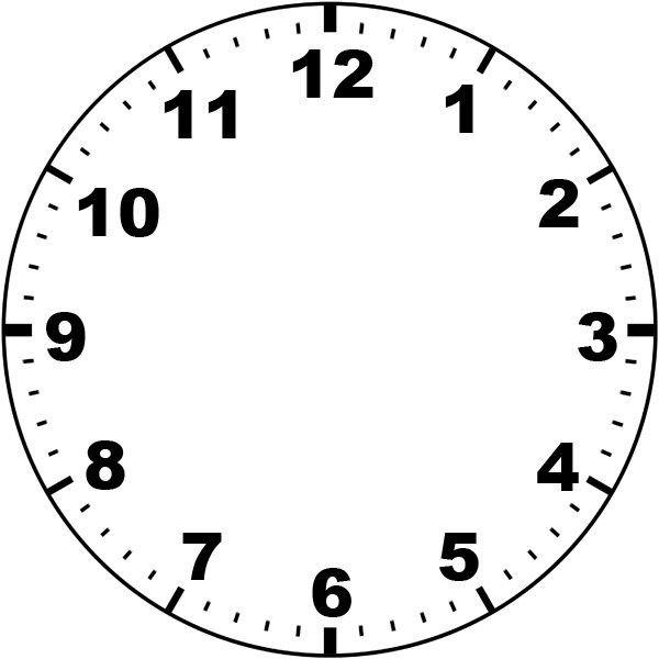 Customizable Clock Face Template Clock Face by Missmindedviantart On Deviantart