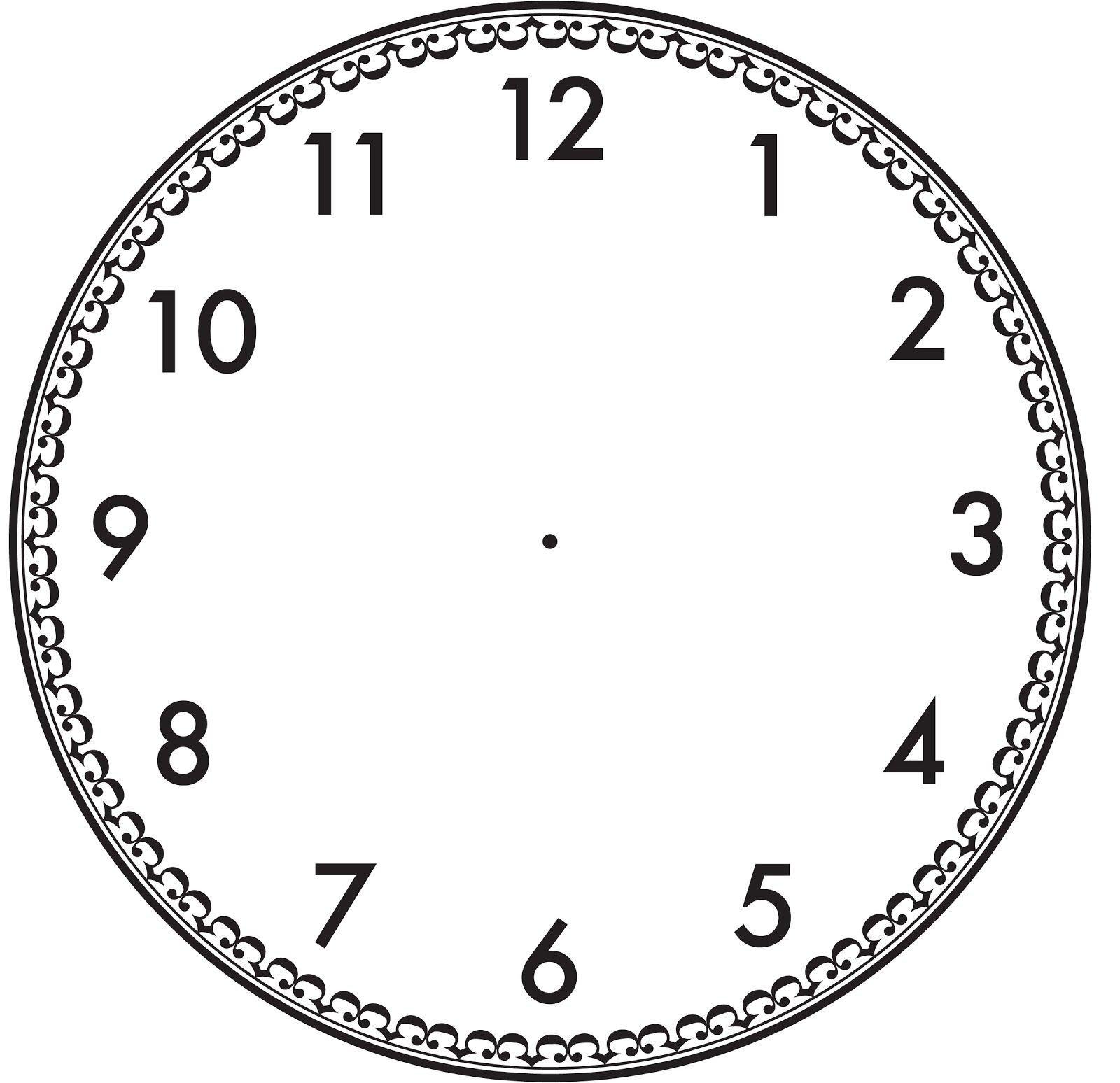 Customizable Clock Face Template Пин от пользователя Светлана на доске Часовая шкала