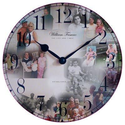 Customizable Clock Face Template Kat and Mouse Design Custom Clock Face Design