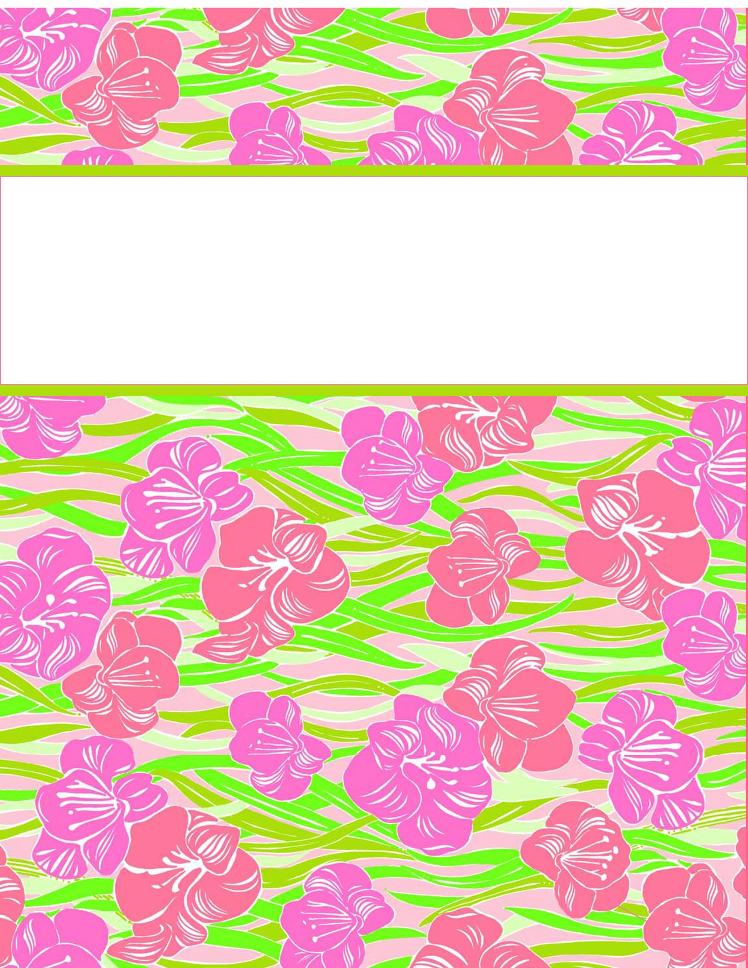 Cute Binder Cover Templates My Cute Binder Covers