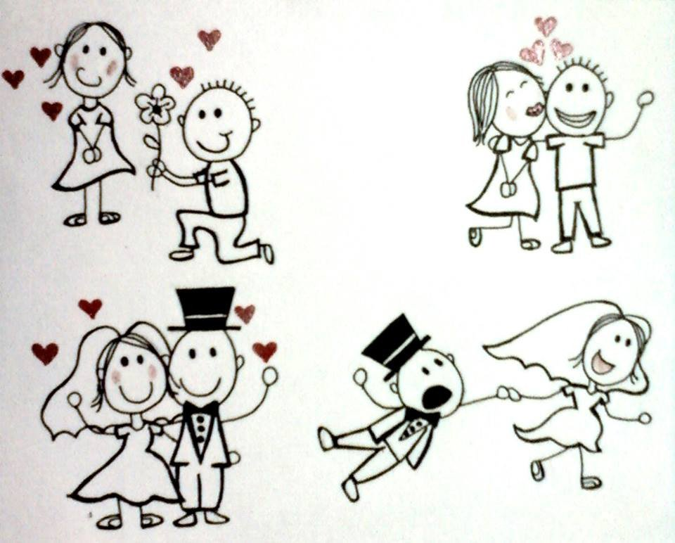 Cute Drawings for Him Cute Love Drawings Dr Odd