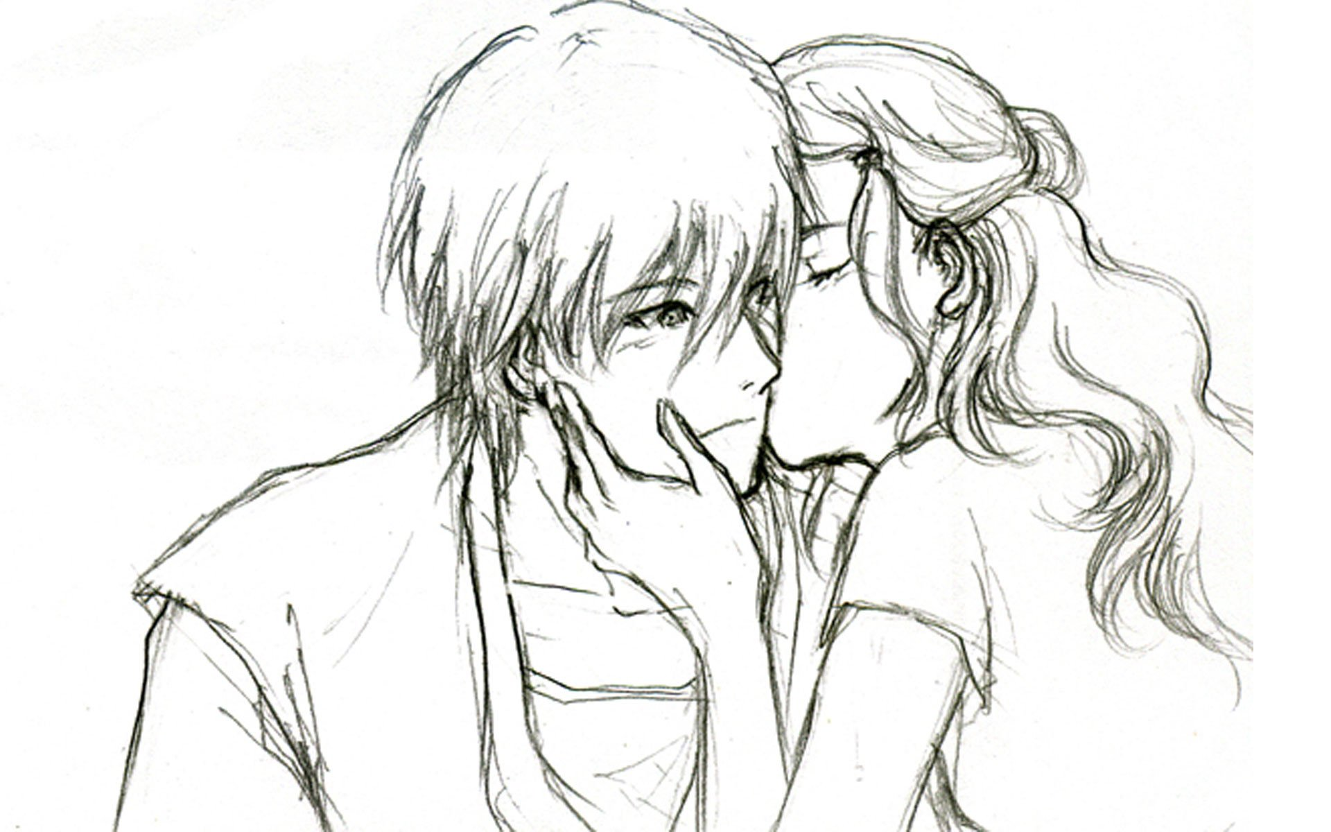 Cute Drawings for Him Cute Love Drawings Pencil Art Hd Romantic Sketch Wallpaper