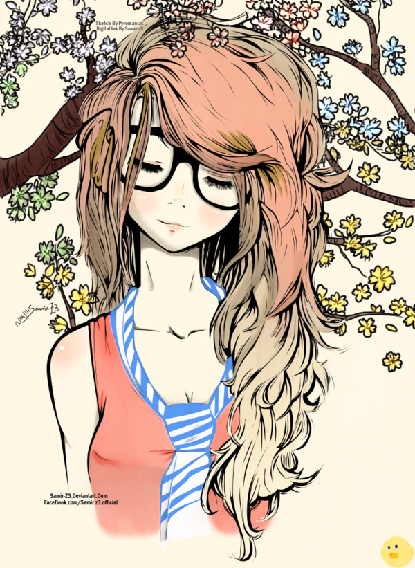 Cute Drawings Of Girls Drawn Girl Cute Pencil and In Color Drawn Girl Cute