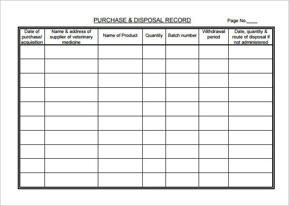 Daily Medication Chart Template 7 Medical Chart Template Free Word Excel Pdf format