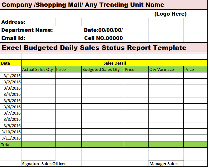 Daily Sales Report Template 1000 Images About My Reports Writing Designs On Pinterest
