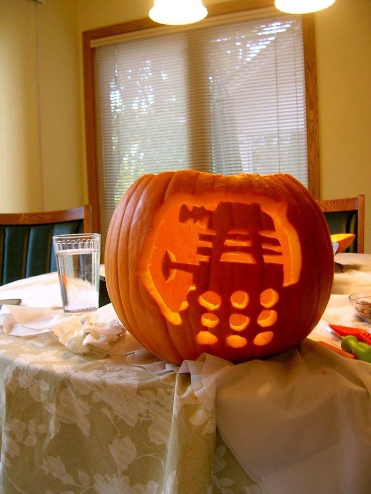 Dalek Pumpkin Stencil 17 Best Images About Pumpkin Carving Ideas On Pinterest