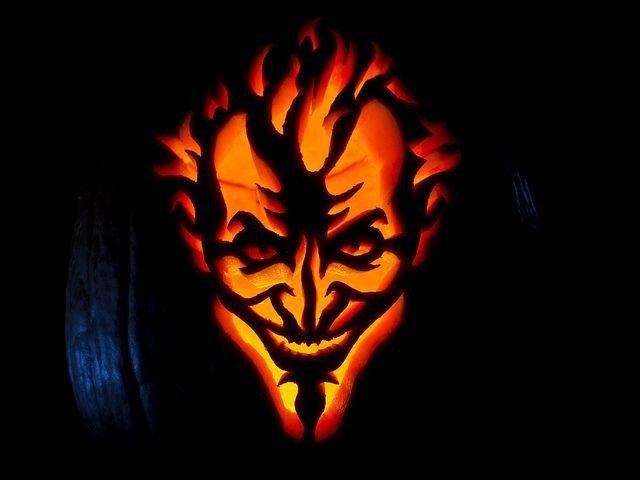 Dalek Pumpkin Stencil Arkham asylum Joker Jack O Lantern On Global Geek News