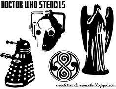 Dalek Pumpkin Stencil Doctor who On Pinterest