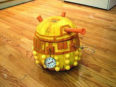 Dalek Pumpkin Stencil Halloween Projects From Evil Mad Scientist Laboratories