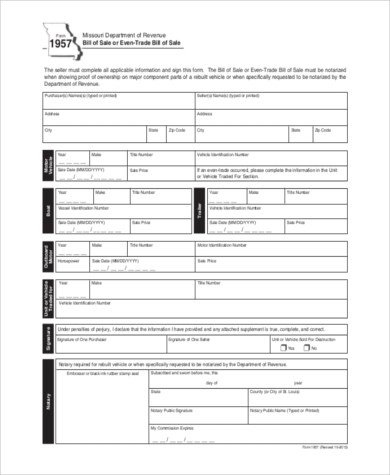 Dealer Bill Of Sale Bill Of Sale form Sample 11 Free Documents In Word Pdf