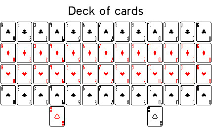 Deck Of Cards Template Deck Of Cards by Seloh On Deviantart
