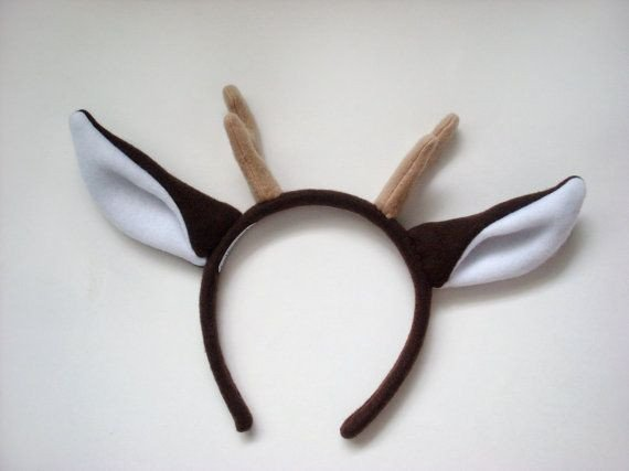 Deer Ear Template 30 Best Images About Cerf Et Daim Inspirations On