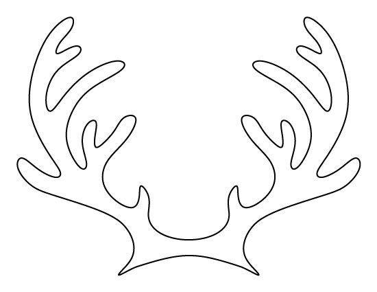 Deer Ear Template Best 25 Reindeer Antlers Ideas On Pinterest