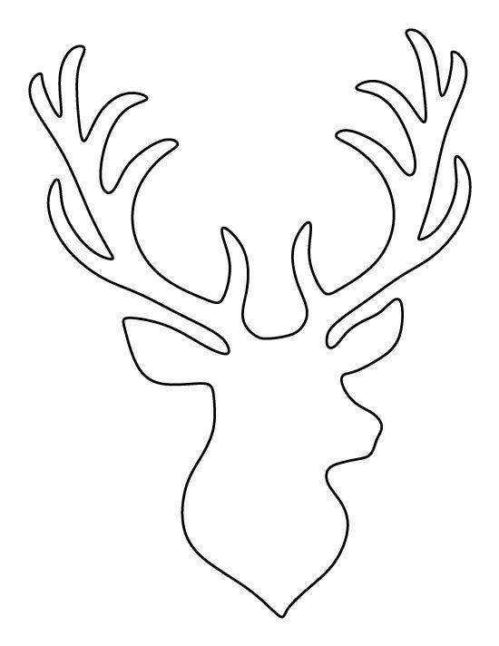 Deer Ear Template Best 25 Reindeer Head Ideas On Pinterest