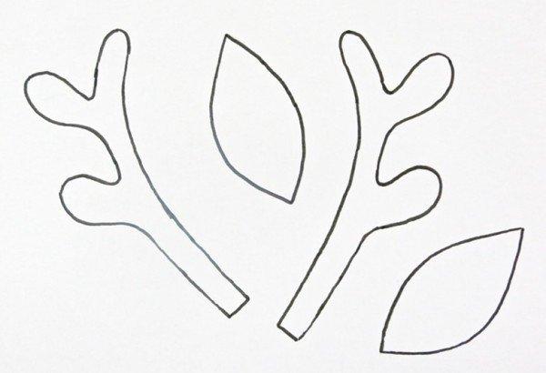 Deer Ear Template Making A Christmas Reindeer Headband