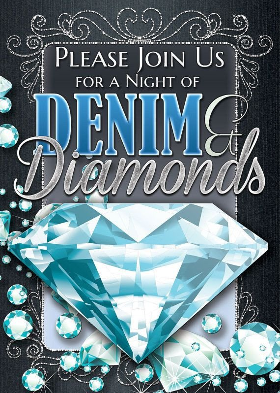 Denim and Diamonds Flyer Best 25 Denim and Diamonds Ideas On Pinterest