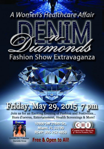 Denim and Diamonds Flyer Denim & Diamonds A Women's Healthcare Affair & Fashion