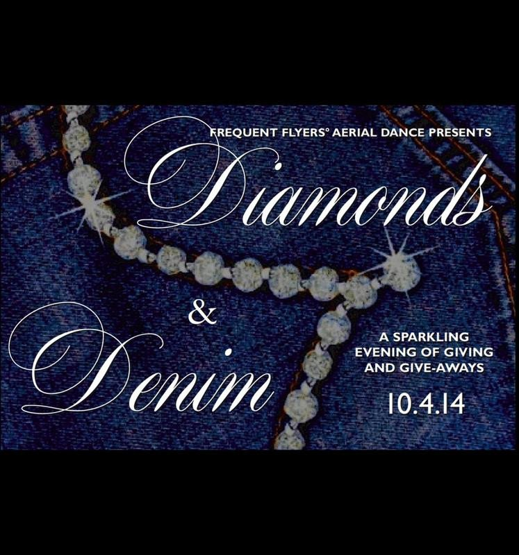 Denim and Diamonds Flyer Frequent Flyers Aerial Dance Tickets