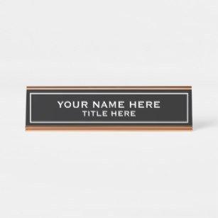 Desk Name Plate Template Template Desk Name Plates