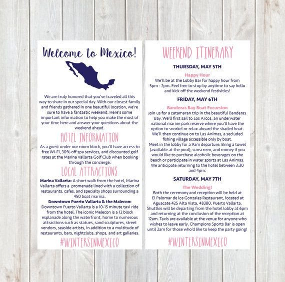 Destination Wedding Itinerary Template 25 Cute Destination Wedding Itinerary Ideas On Pinterest
