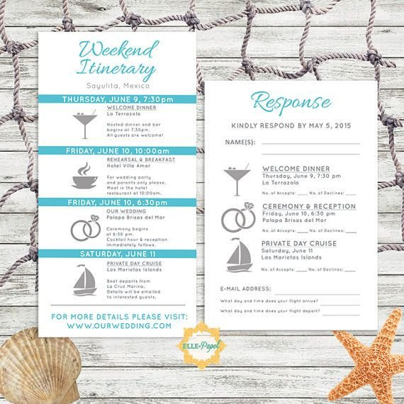 Destination Wedding Itinerary Template Best 25 Destination Wedding Itinerary Ideas On Pinterest
