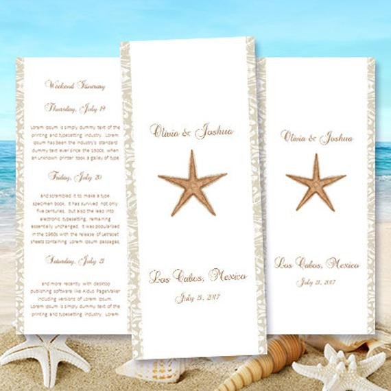 Destination Wedding Itinerary Template Destination Wedding Itinerary Template Starfish