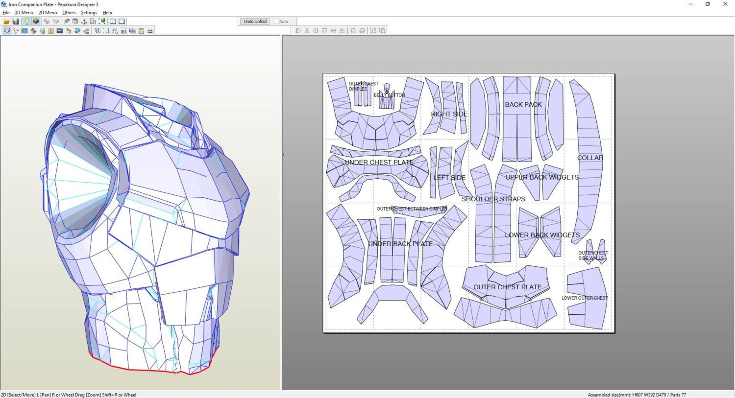 Destiny Hunter Armor Template Destiny Titan Iron Panion Male Chest Plate Foam Pepakura