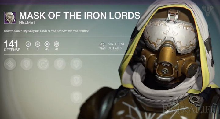 Destiny Hunter Armor Template Iron Lords Armor Hunter
