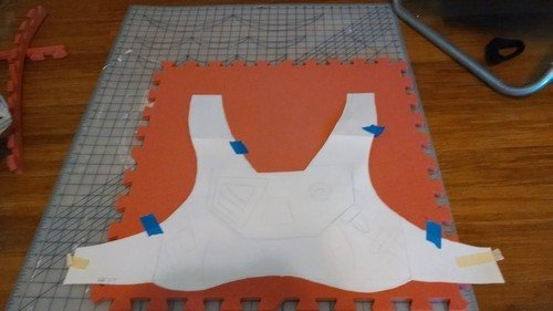 Destiny Hunter Armor Template Laura S Cosplay Blog • Destiny Hunter Build Part 1 the