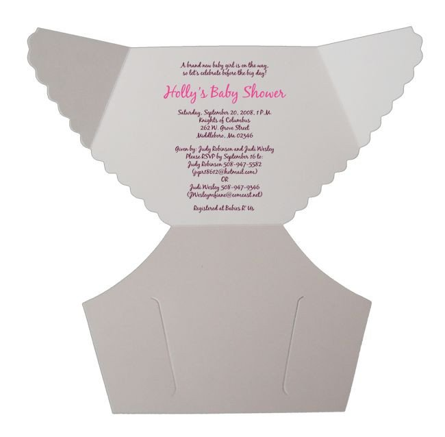 Diaper Baby Shower Invitations Template Best 25 Diaper Invitation Template Ideas On Pinterest