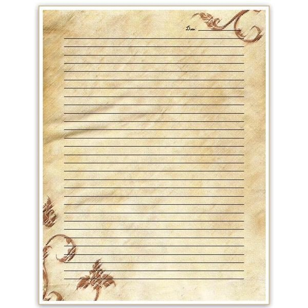 Diary Entry Template Word 10 Free Journal Templates for Microsoft Word Diary Pages