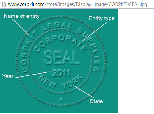 Digital Corporate Seal Template Blog Posts Architecturegala