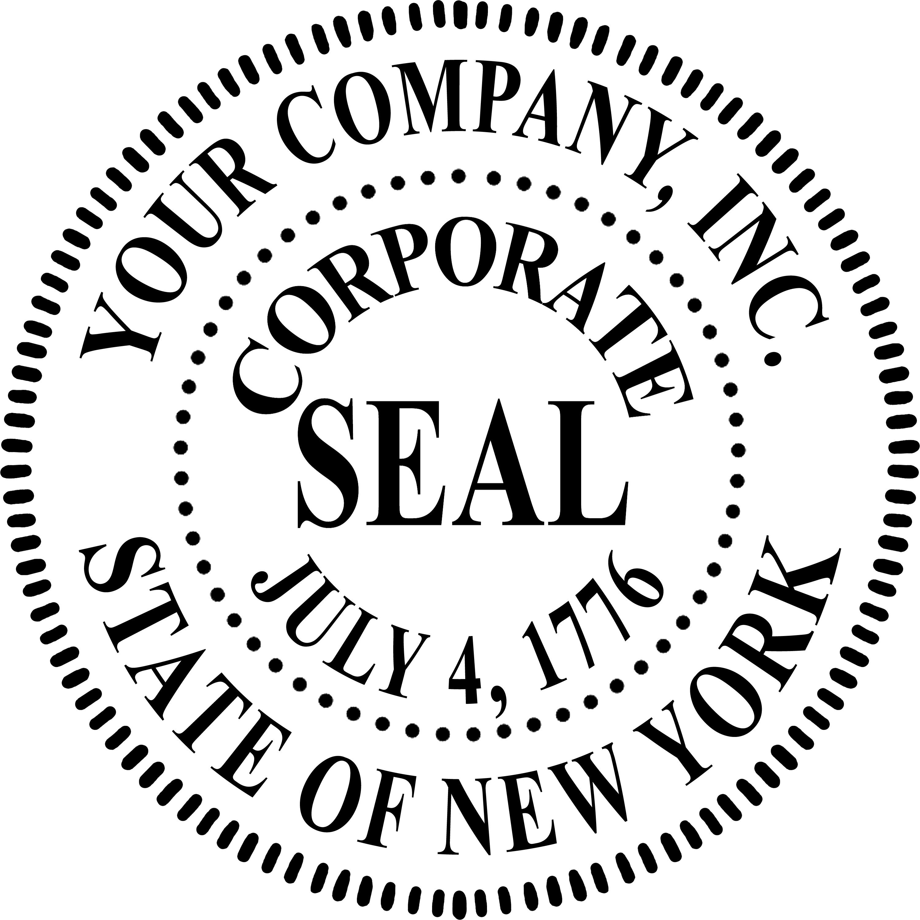 Digital Corporate Seal Template Corporation Setup & Dissolution R&g Brenner