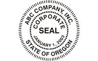 Digital Corporate Seal Template Self Inking Corporate Seals Made Daily Line