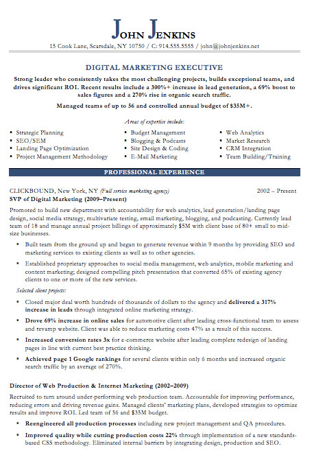 Digital Marketing Resume Sample 19 Free Resume Templates You Can Customize In Microsoft Word