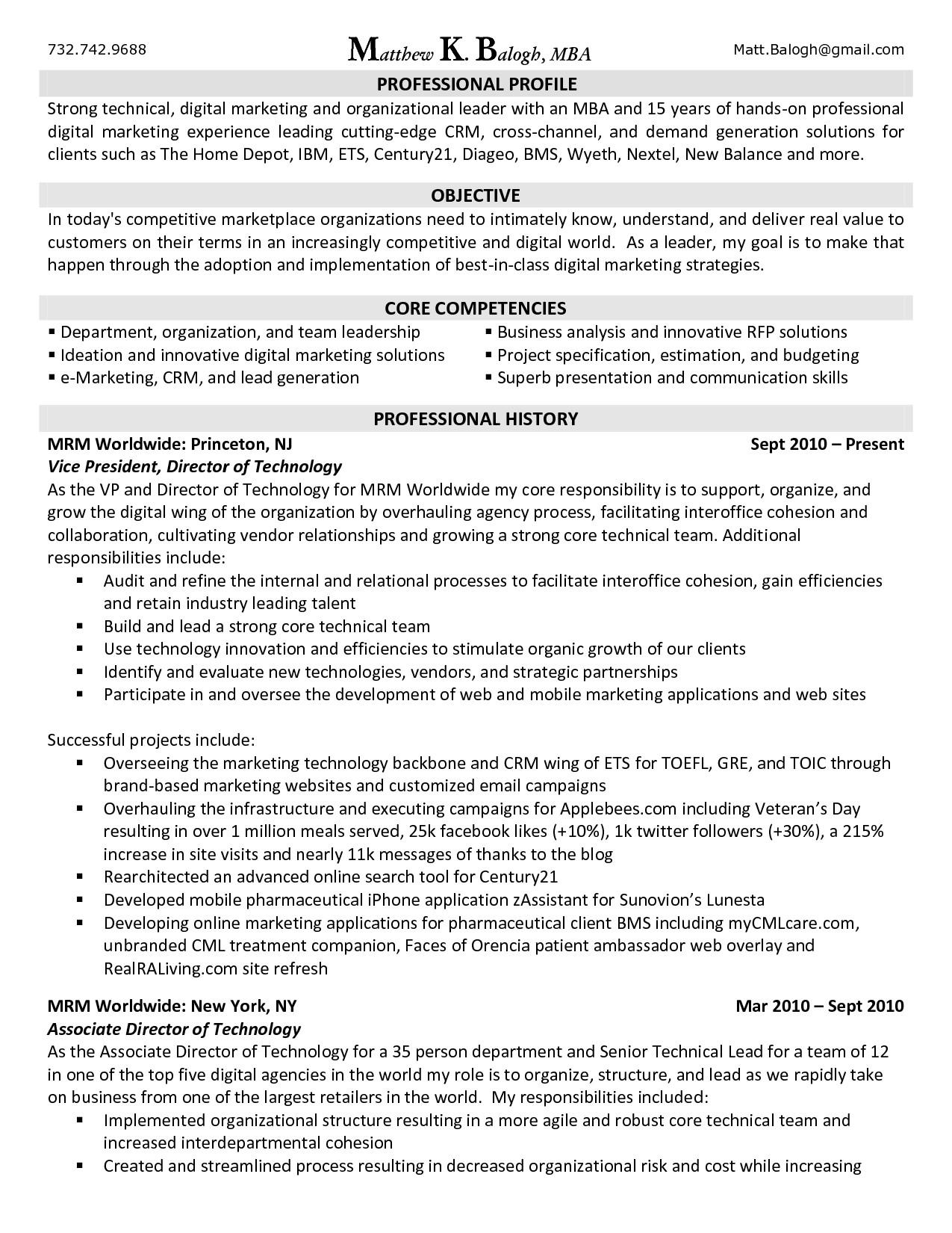 Digital Marketing Resume Sample Digital Marketing Resume Fotolip Rich Image and