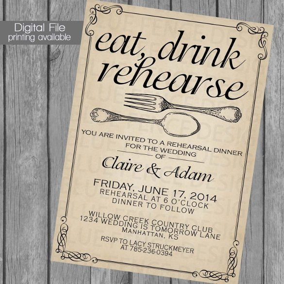 Dinner Party Invitation Templates 49 Dinner Invitation Templates Psd Ai Word