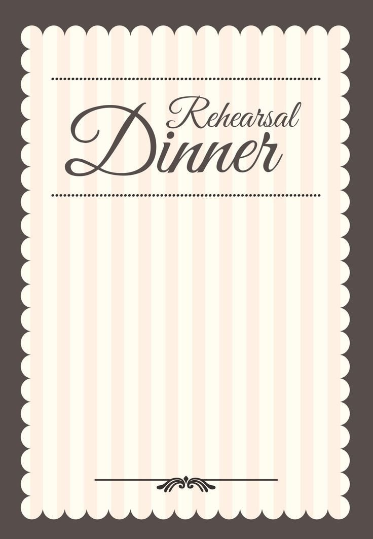 Dinner Party Invitation Templates Stamped Rehearsal Dinner Free Printable Rehearsal Dinner