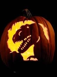 Dinosaur Pumpkin Carving Pattern 11 Costume & Pumpkin Ideas for A Network Admin Halloween