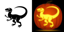 Dinosaur Pumpkin Carving Pattern Animal Pumpkin Carving Patterns