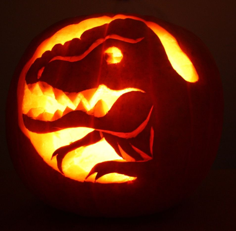 Dinosaur Pumpkin Carving Pattern Dinosaur Pumpkin Carving Patterns Google Search Pumpkins