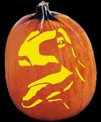 Dinosaur Pumpkin Carving Pattern Halloween On Pinterest