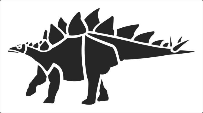 Dinosaur Pumpkin Carving Pattern Popular Dinosaur Stencil to Online now